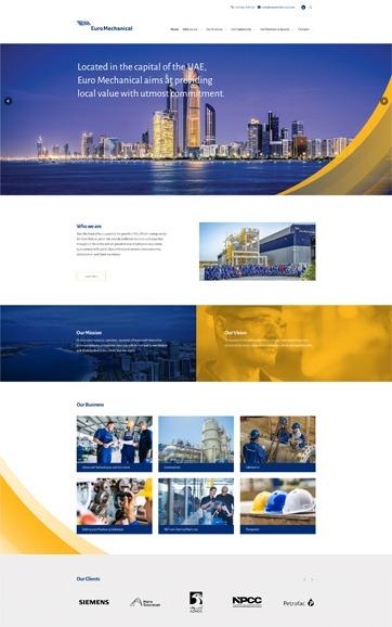 Euro Mechanical   Leading engineering supplier in Abu Dhabi, UAE